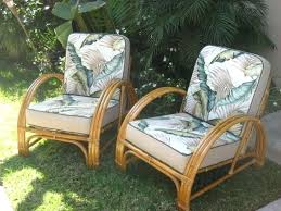 Antique Rattan Furniture Set Vintage Wicker Patio Chair Outdoor A House Full Of