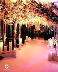 Wedding Entrance Decoration Ideas Festoons Of Glass Balls Floral Ceiling And The Decorated On Sides Is