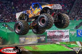 99 Monster Trucks In Phoenix Glendale Arizona Jam February 3 2018 Stone Crusher