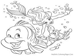 Sea Life Coloring Pages Free Archives And