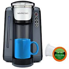 MiXPRESSO Single Serve K Cup Coffee Maker Compatible With Most Cups Including