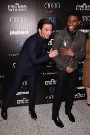 Sebastian Stan And Chadwick Boseman Attend The Cinema Society With Audi FIJI Water Host A