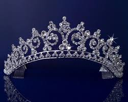 rhinestones crystal wedding bridal pageant princess tiara crown