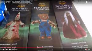 Spirit Halloween Animatronics 2014 by Spirit Halloween 2016 3 Leaked Prop Boxes Spirit Sneak Peeks