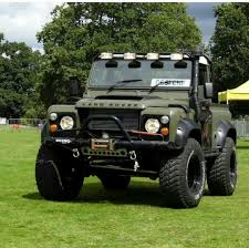 100 Defender Truck Modified Land Rover 90 Pickup Civilian Vehicles Land