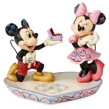 Jim Shore Halloween Disney by Mickey And Minnie Mouse Figure With Tray By Jim Shore Shopdisney