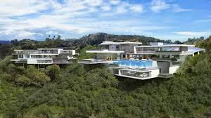 100 Sunset Plaza House Contemporary Mansions On Drive LA Purchase