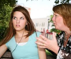 Mother Fighting With Teen Daughter