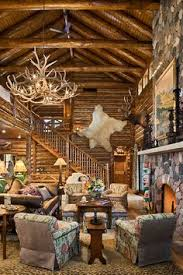 Simple Log Home Great Rooms Ideas Photo by The Pointe Amazing Views Meet Timeless Charm At Rustic Mountain