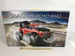 Savage RC Truck Off-road 4wd Unopened Large 1/10 Scale | EBay 24ghz Hsp 110 Scale Electric Rc Off Road Monster Truck Rtr 94111 Gizmo Toy Ibot Remote Control Racing Car Arctic Hobby Land Rider 307 Race Car Dodge Ram Offroad Woffroad Tires Extreme Pictures Cars 4x4 Adventure Mudding Savage Offroad 4wd Unopened Large Ebay 2 Wheel Drive Rock Crawler Vehicle Landking Radio Buggy 118 24g 35mph2 Colors And Buying Guide Geeks 4wd Military Dudeiwantthatcom Best Rolytoy 112 High Speed 48kmh