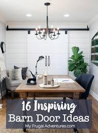 16 Inspiring Barn Door Ideas