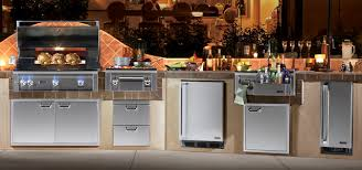 Outdoor Kitchens Appliances Endearing Outdoor Kitchen Appliances