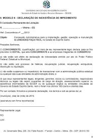Edital Modalidade Carta Convite Objeto Contratação De Empresa