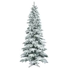 75 Ft Christmas Tree by Flocked And Frosted Trees U2013 Bulbamerica