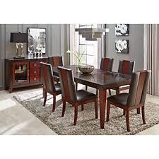 Sofia Vergara Black Dining Room Table by Sofia Vergara Savona Chocolate 5 Pc Rectangle Dining Room Dining