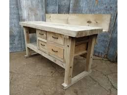 wood solid wood workbench pdf plans