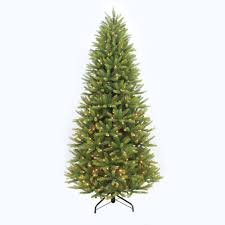 7ft Aspen Slim Christmas Tree by Home Accents Holiday 7 Ft To 10 Ft Led Pre Lit Adjustable Rising