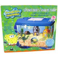 Spongebob Aquarium Decor Set by Penn Plax Spongebob Kit Walmart Com