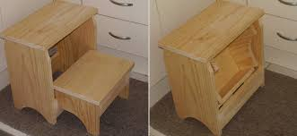 how to build a folding step stool