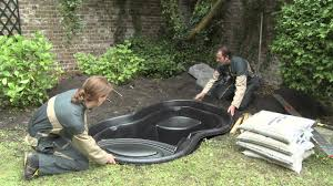 Installation Ubbink Ready-made Pond - YouTube Pond Kit Ebay Kits Koi Water Garden Aquascape Koolatron 270gallon 187147 Pool At Create The Backyard Home Decor And Design Ideas Landscaping And Outdoor Building Relaxing Waterfalls Garden Design Small Features Square Raised 15 X 055m Woodblocx Patio Pond Ideas Small Backyard Kits Marvellous Medium Diy To Breathtaking 57 Stunning With How To A Stream For An Waterfall Howtos Tips Use From Remnants Materials