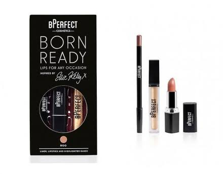 BPerfect Born Ready Ellie Kelly Lip Kit - Boo