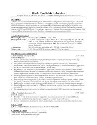 Resume Sample Senior Java Developer With Template