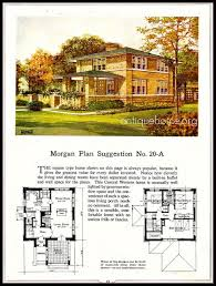 American Foursquare Floor Plans Modern by 80 Best American Four Square House Images On Pinterest Craftsman