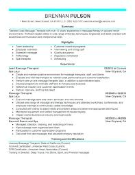 Resume For Respiratory Therapist Examples Sample Student