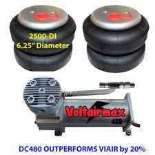 100 Air Bag Kits For Trucks Ride Compressor DC480 Suspension 2500 Springs Kit EBay