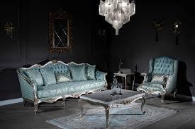 casa padrino luxus barock couchtisch weiß silber gold 120 x 81 x h 46 cm massivholz wohnzimmertisch wohnzimmer möbel im barockstil