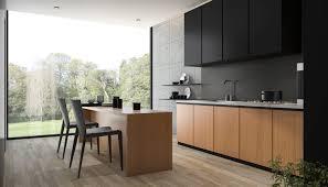 holz küche natürliches ambiente für jeden wohnstil