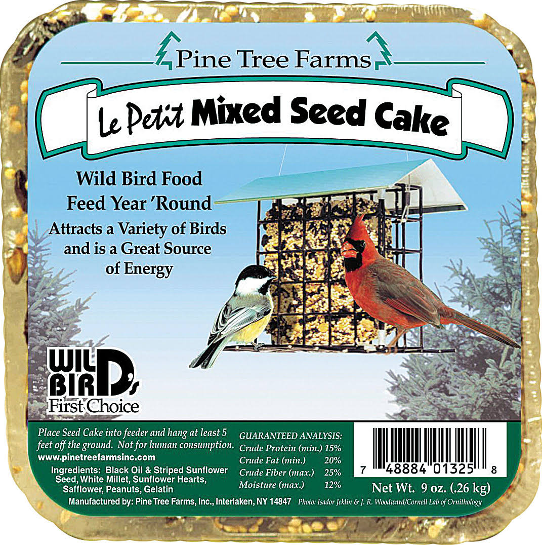 Pine Tree Farms Le Petit Mixed Seed Cake - 9oz