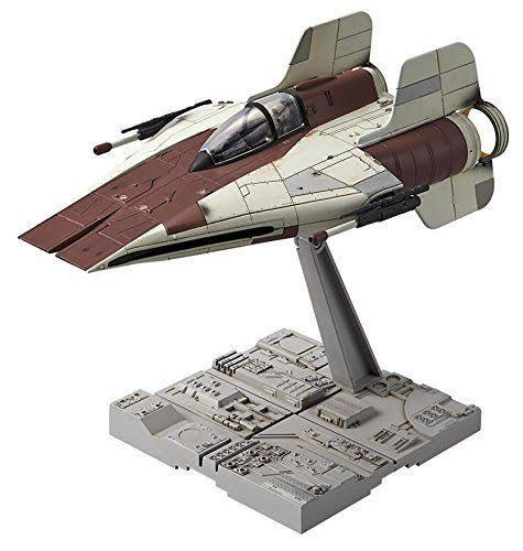 Star Wars A Wing Starfighter Plastic Model Kit - 1/72 scale
