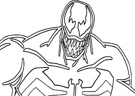 Big Venom Coloring Page And Pages