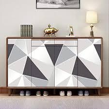 hode möbelfolie selbstklebend klebefolie möbel graue geometrie tapete 45cmx2m küche pvc wasserdicht wand vinyl folie schlafzimmer
