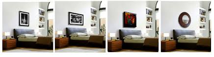 4 Examples Of Artwork Hung Over A Bed