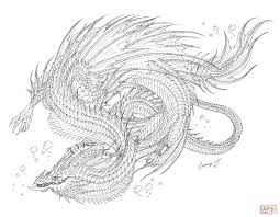 Dragon Coloring Pages Free Drawing