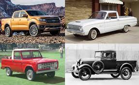 100 Ford Compact Truck A Visual History Of S Pickups Feature Car And Driver