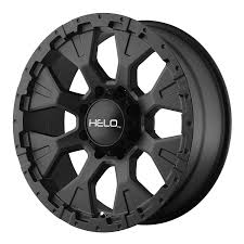 Amazon.com: Helo HE878 Wheel With Satin Black Finish (17x9