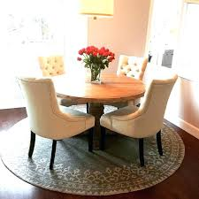 Round Dining Room Rugs Table Rug Kitchen Beautiful Unusual Design Under Amazon