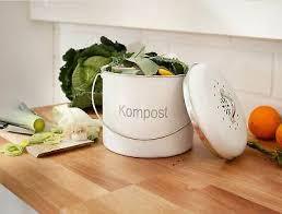 bio abfalleimer kompost eimer kücheneimer mülleimer metall m