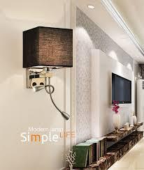 moderne 2 led wandleuchte bett lesele beleuchtung hotel schlafzimmer veranda leuchte