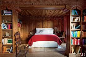 Wood Paneling Adds Warmth To This Rustic Bedroom