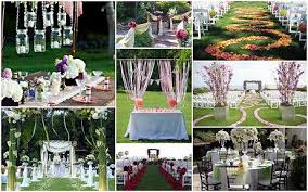 Chic Outdoor Wedding Decoration Ideas Smartrubix