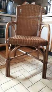 5 küchenstühle esszimmer stühle rattan korbgeflecht top zustand