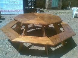 exteriors octagon grill picnic table small picnic table poly