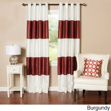 120 Inch Length Blackout Curtains by Blue Stripe Curtain Panel