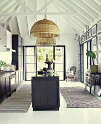 Safari Style Meets French Perfection In This Beautiful Colonial Home Saint Barth The West Indies Using A Restrained Black And White Colour