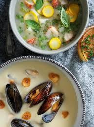 cuisiner homard congelé chaudrée de homard et de petits pois ricardo