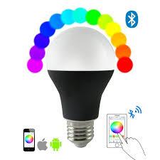 ios android app bluetooth rgbw color magic led smart light